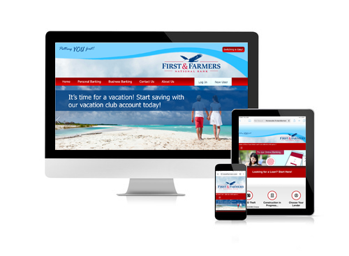 View our website from any device. The FREEDOM to bank from any device, anytime or anywhere.