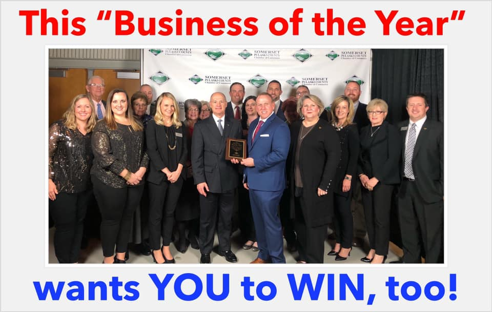 Business of the year award picture