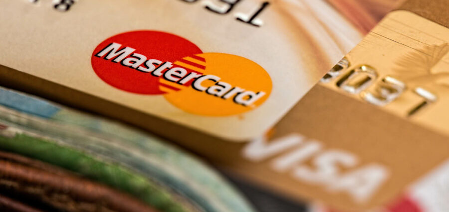 credit cards and a wallet